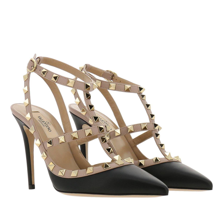 鞋 女士 Valentino Garavani 黑色 2