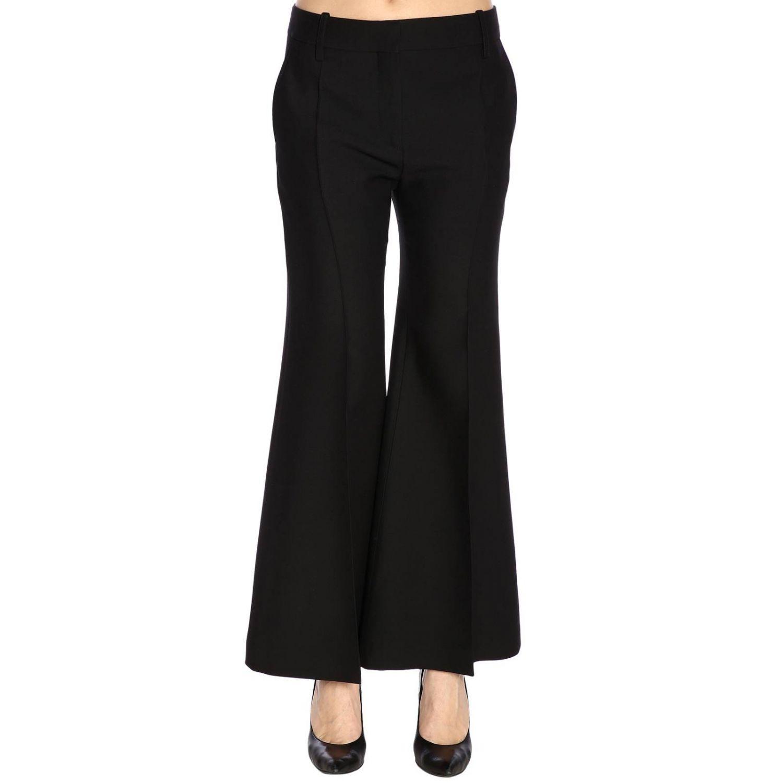 Pantalone Valentino flair a vita regolare con tasche america nero 1