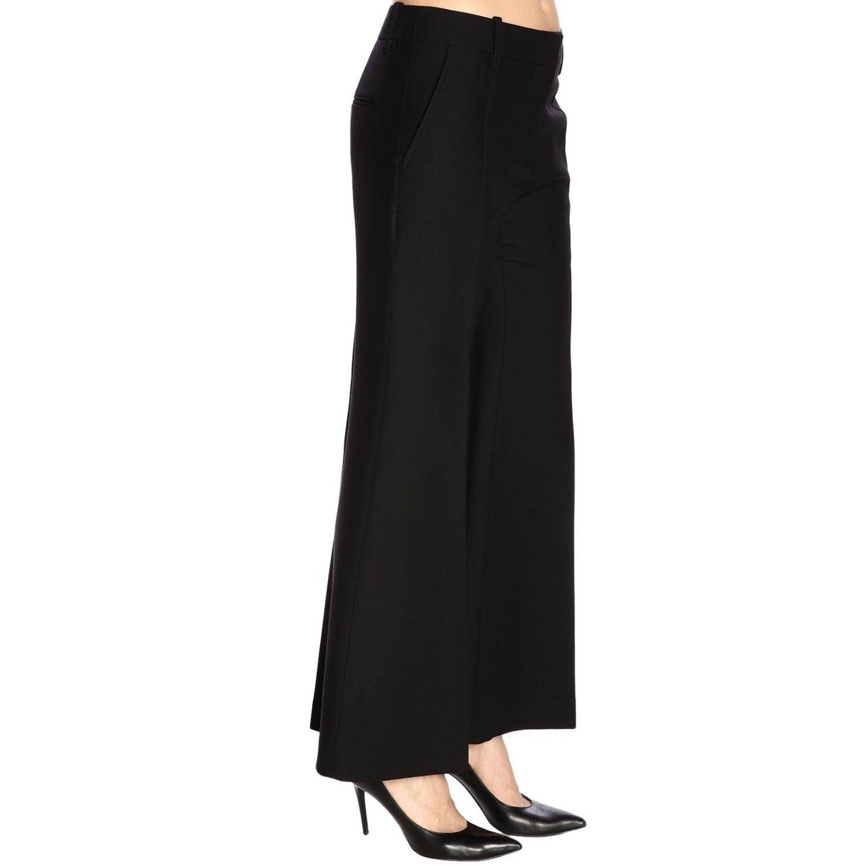 Pantalone Valentino flair a vita regolare con tasche america nero 2