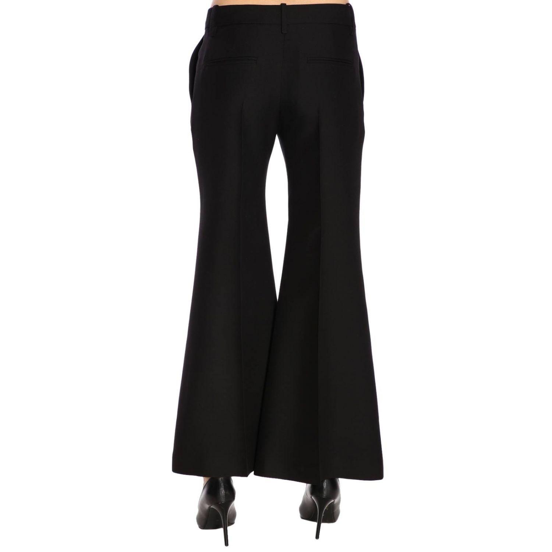 Pantalone Valentino flair a vita regolare con tasche america nero 3