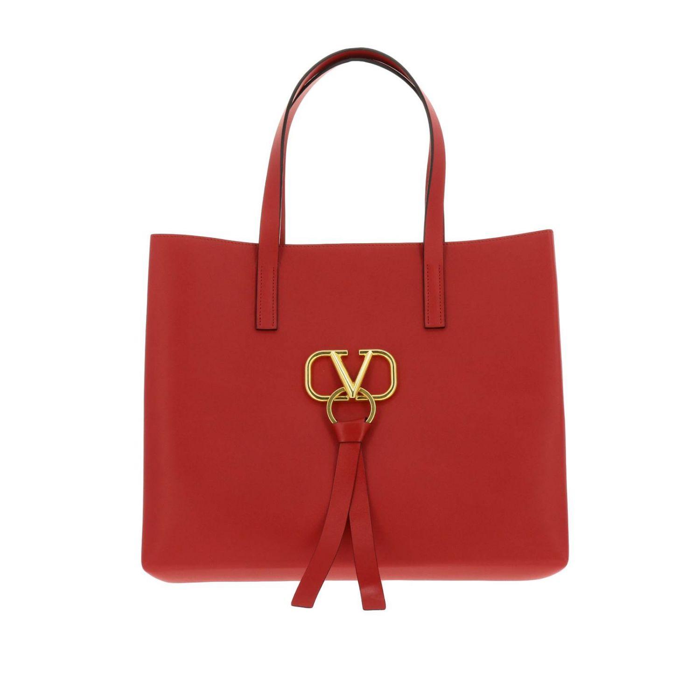 Borsa VRING shopping bag large Valentino Garavani rosso 1