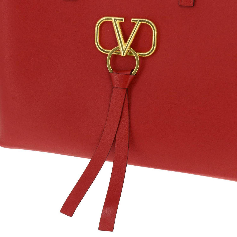 Borsa VRING shopping bag large Valentino Garavani rosso 4
