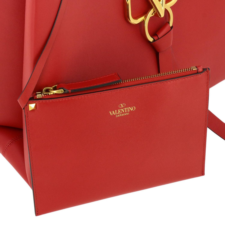 Borsa VRING shopping bag large Valentino Garavani rosso 5