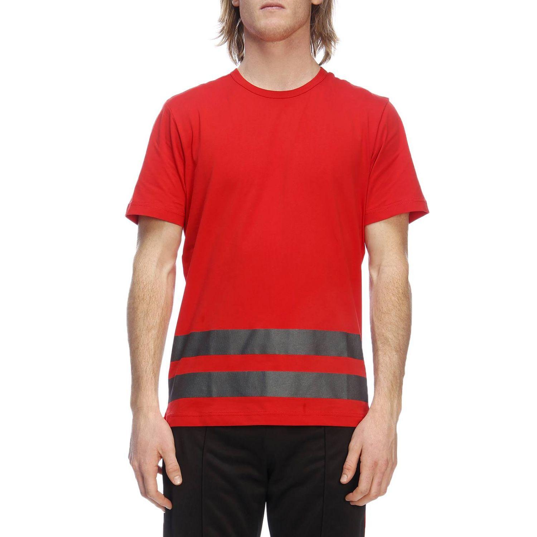 T-shirt a maniche corte con maxi stampa catarifrangente by Rossignol rosso 1