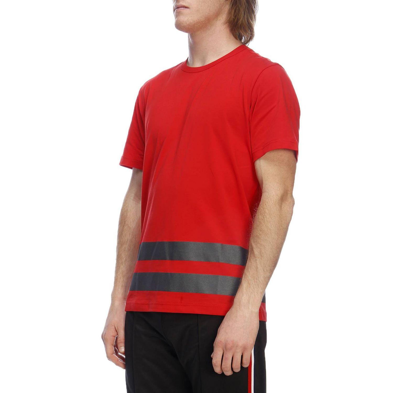 T-shirt a maniche corte con maxi stampa catarifrangente by Rossignol rosso 2