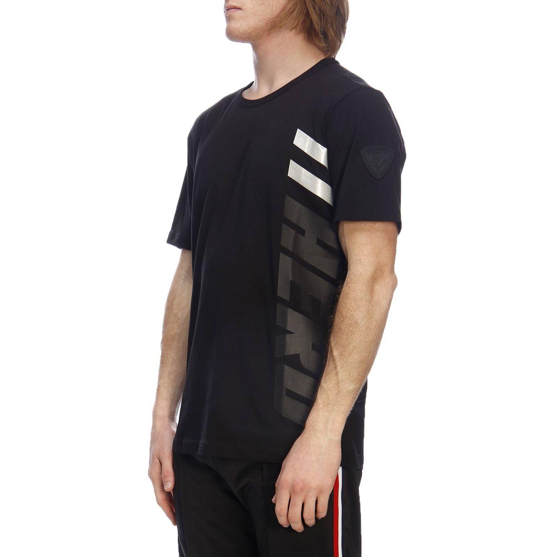T-shirt men Rossignol black 2