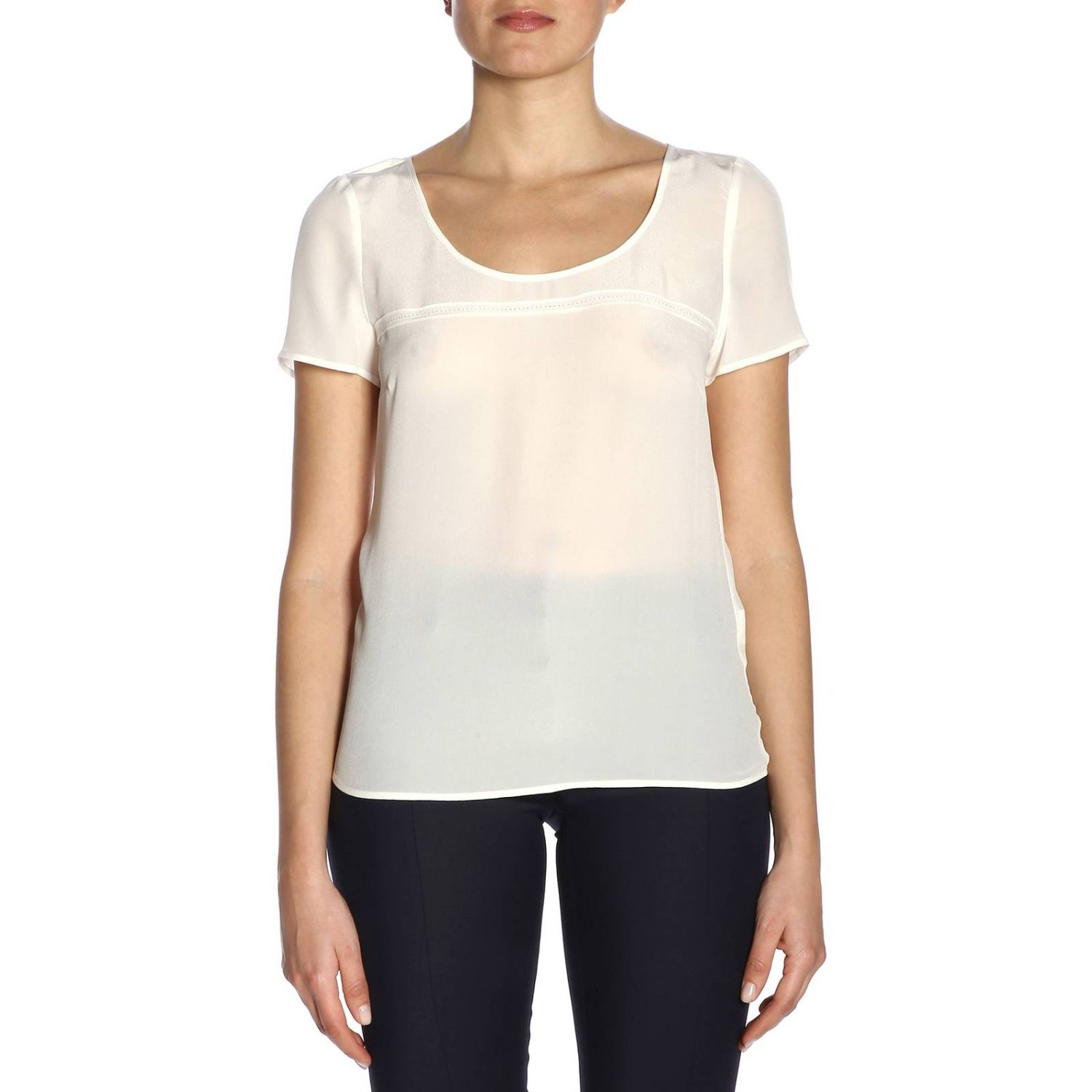 Top women Patrizia Pepe white 1