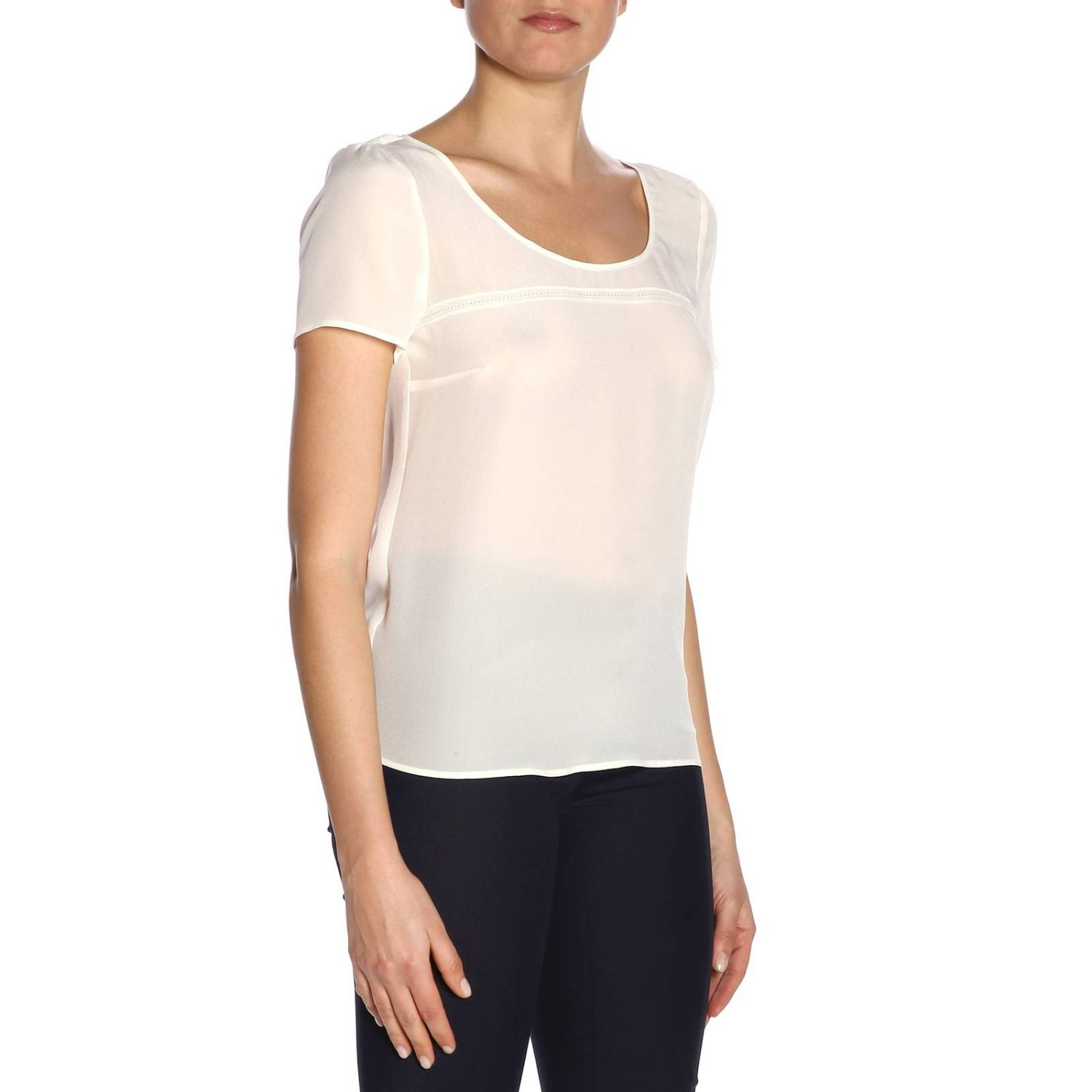 Top women Patrizia Pepe white 2