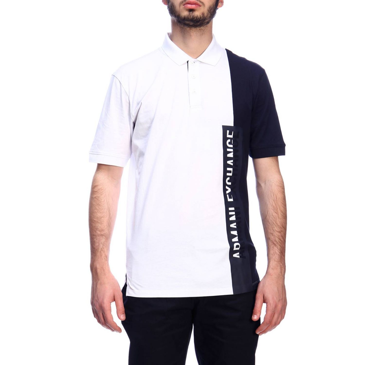 T-shirt men Armani Exchange white 1