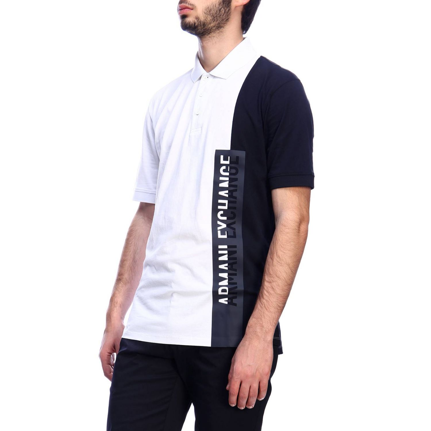 T-shirt men Armani Exchange white 2