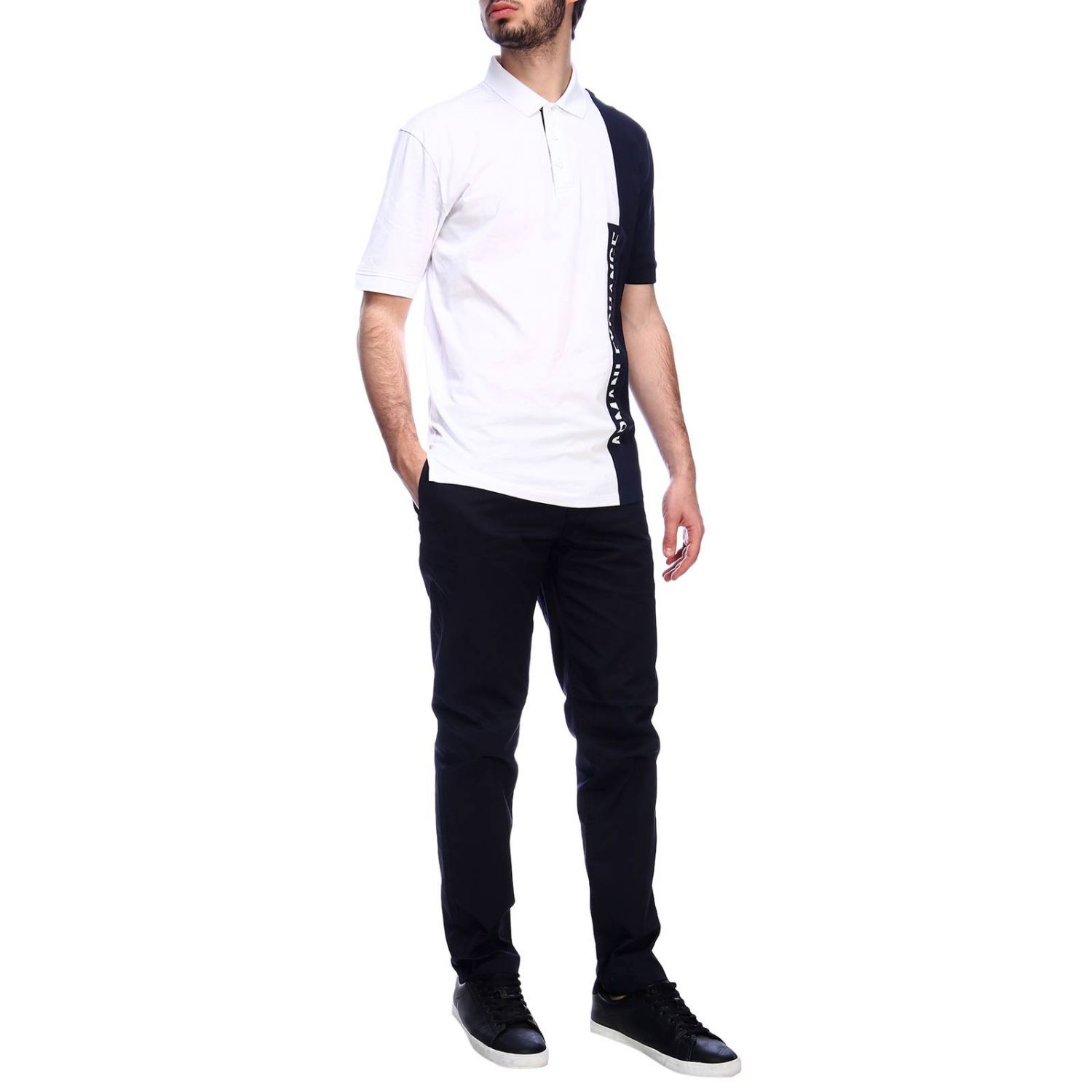 T-shirt men Armani Exchange white 4