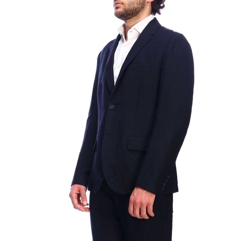 Americana hombre Armani Exchange azul oscuro 2