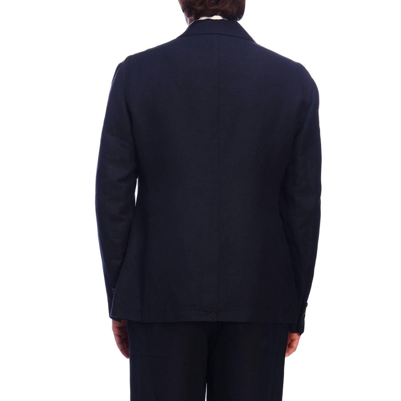 Americana hombre Armani Exchange azul oscuro 3