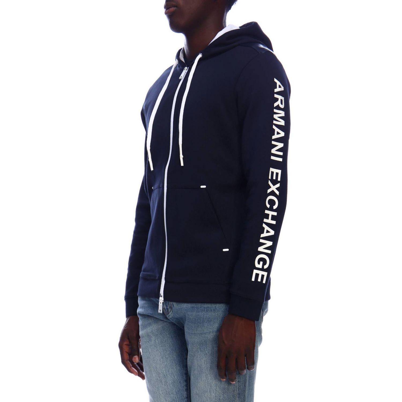 Jersey hombre Armani Exchange azul marino 2