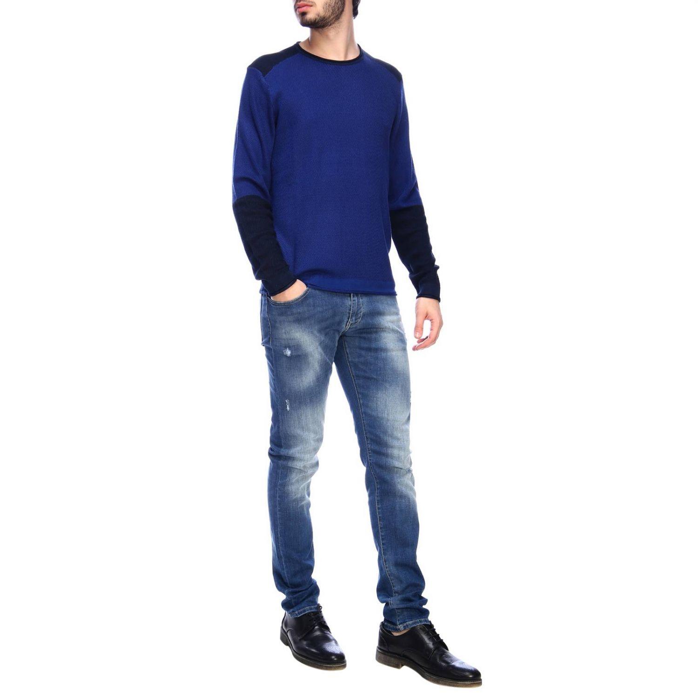 Jumper men Armani Exchange blue 4