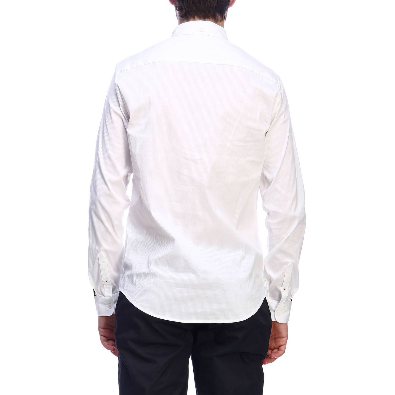 Camisa hombre Armani Exchange blanco 3