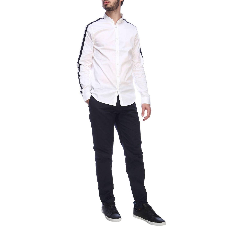 Camisa hombre Armani Exchange blanco 5