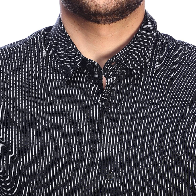 Chemise homme Armani Exchange noir 4