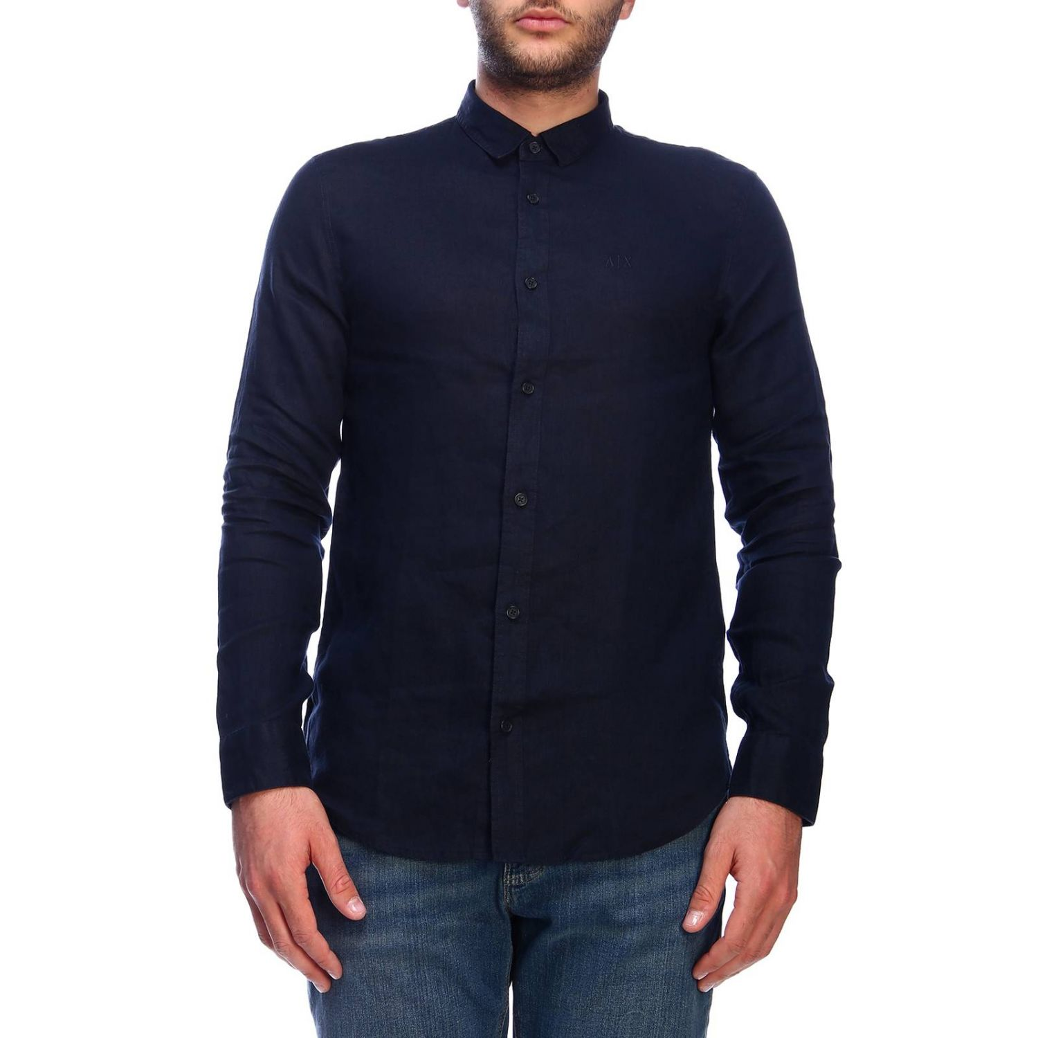 Shirt men Armani Exchange navy 1