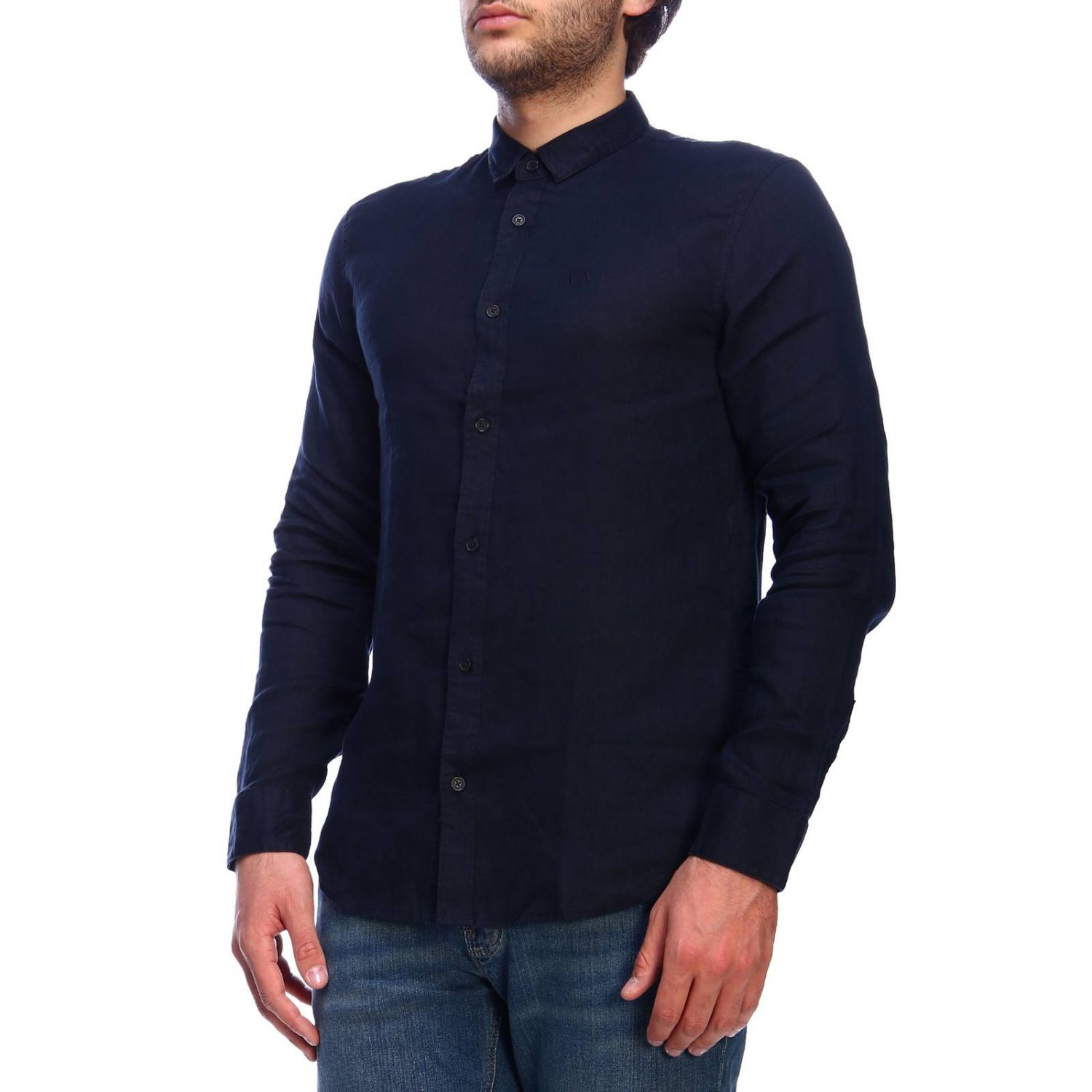 Shirt men Armani Exchange navy 2