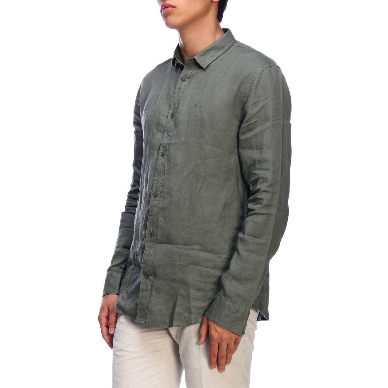 Рубашка Мужское Armani Exchange милитари 2