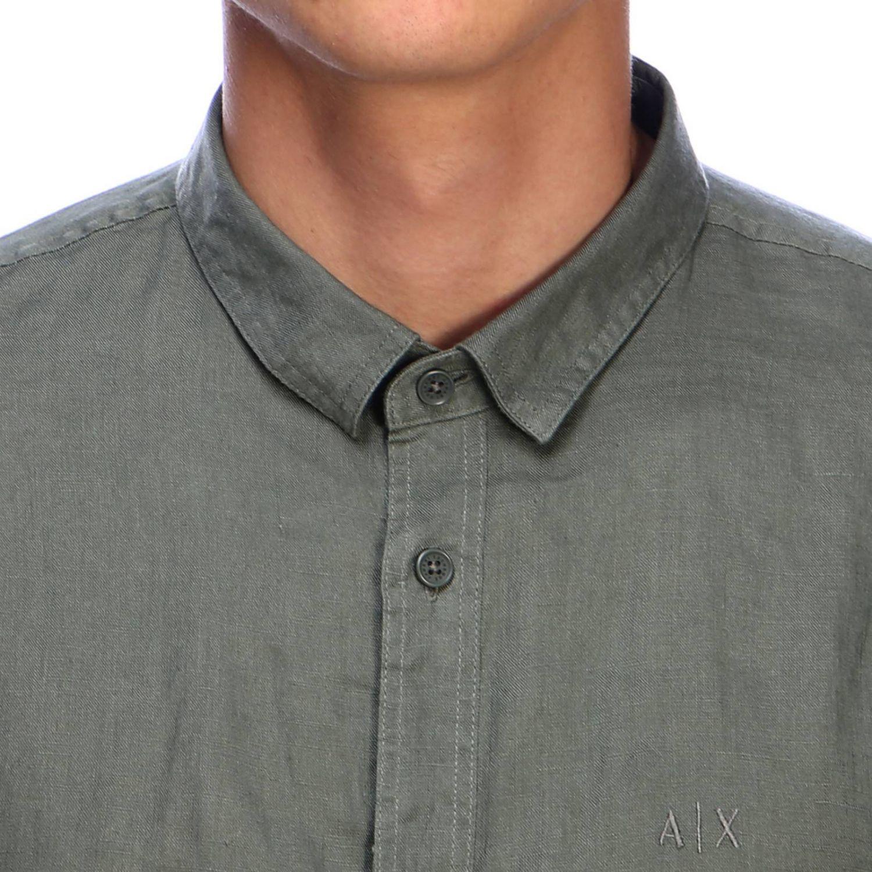 Рубашка Мужское Armani Exchange милитари 4