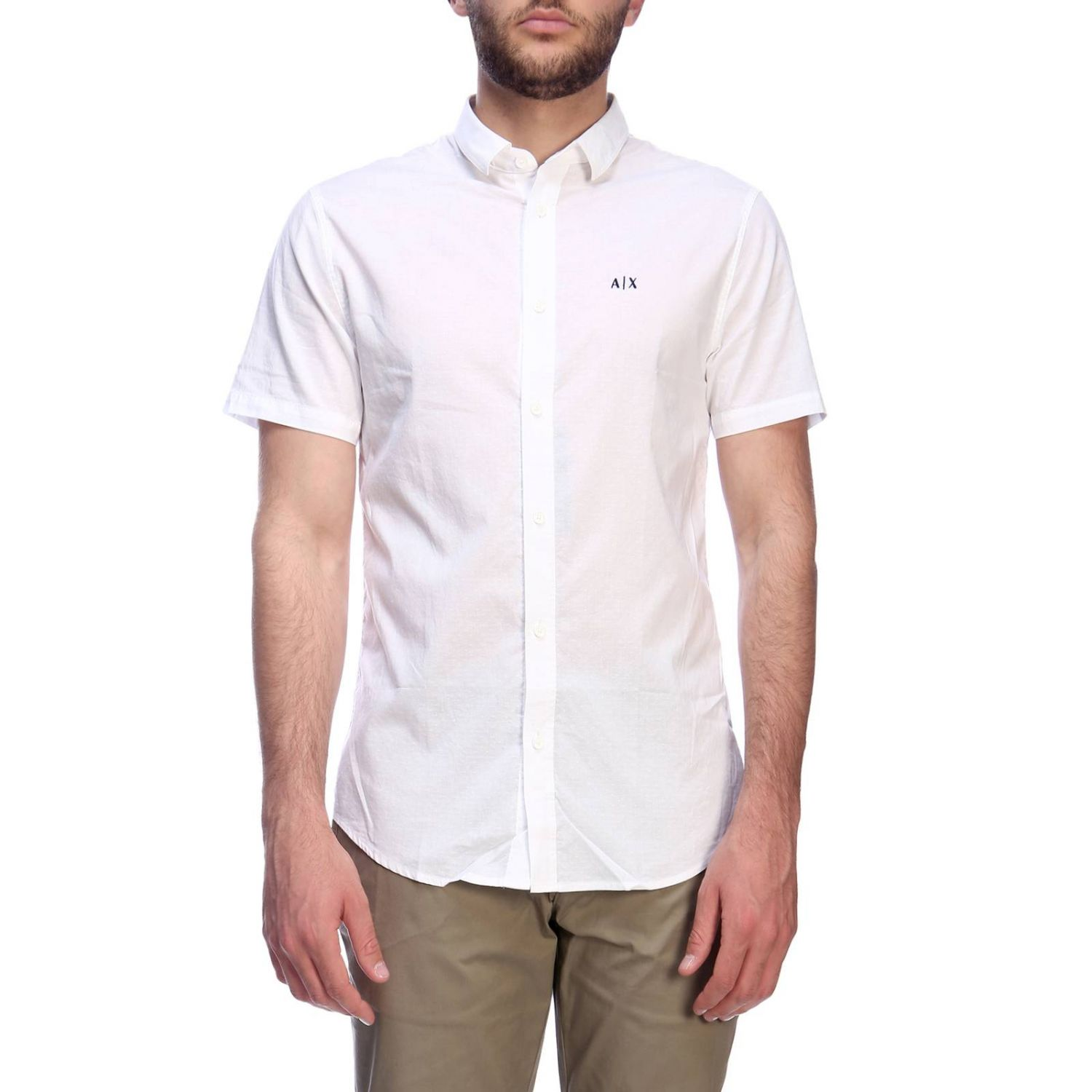 Shirt men Armani Exchange white 1