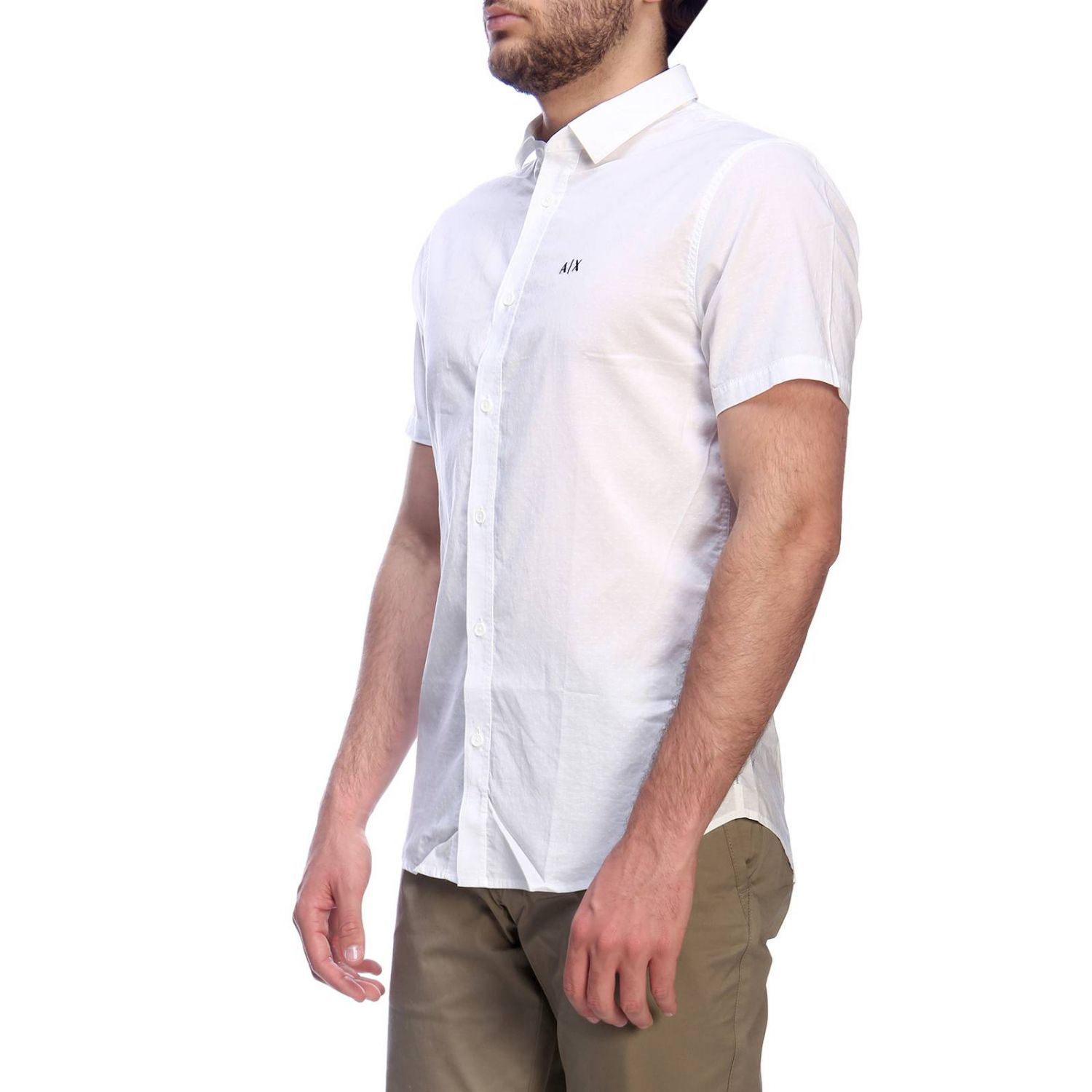 Shirt men Armani Exchange white 2