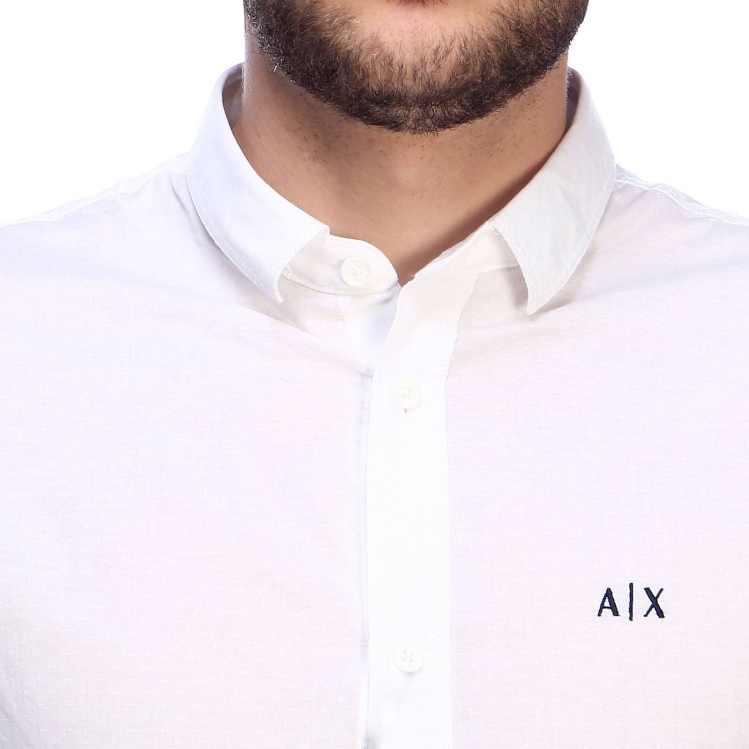 Shirt men Armani Exchange white 4