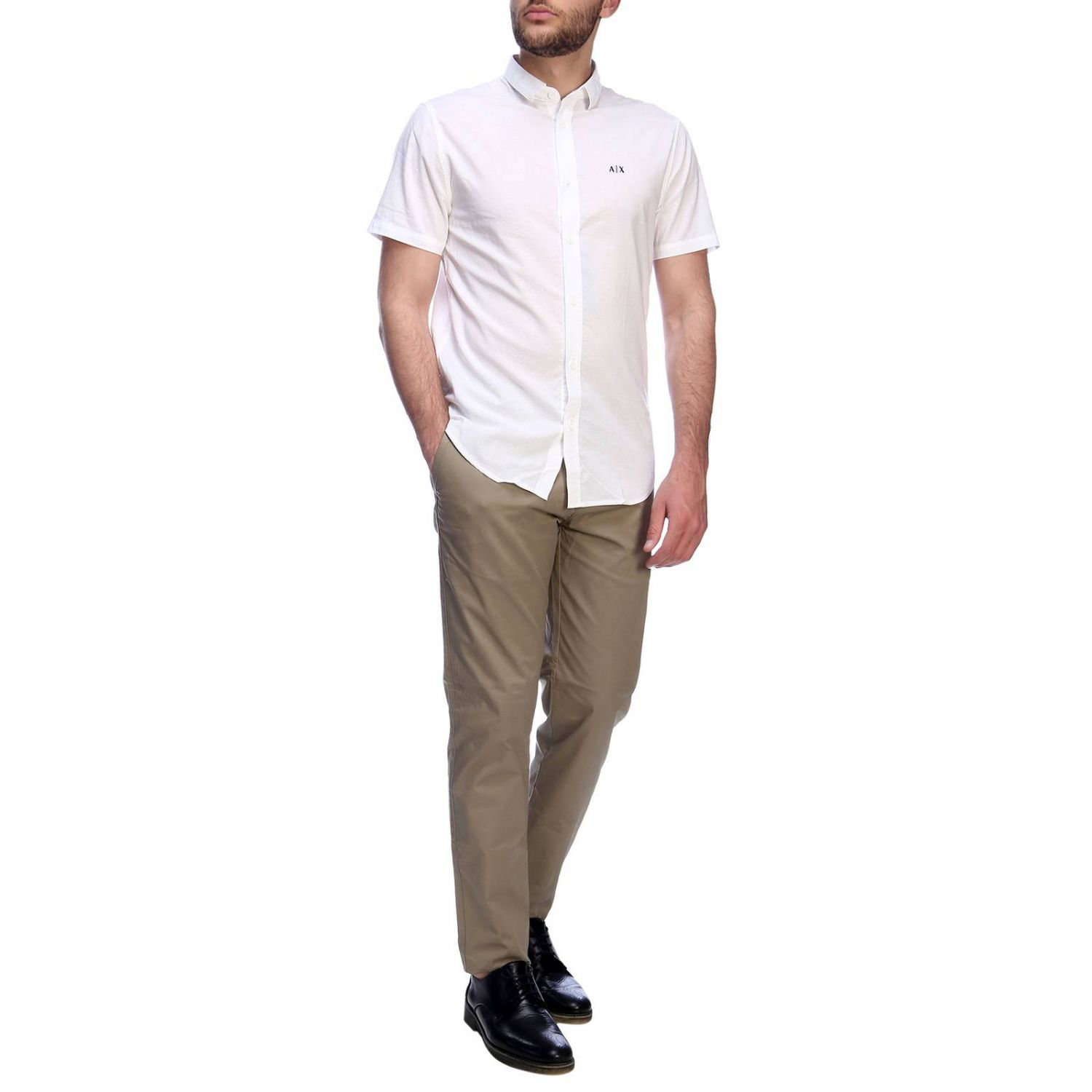 Shirt men Armani Exchange white 5