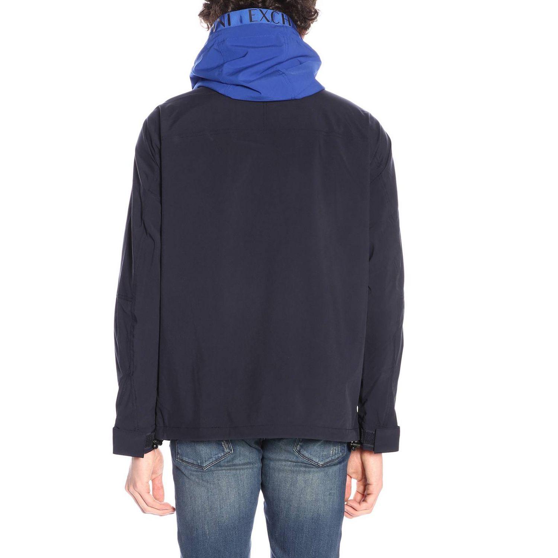 Veste homme Armani Exchange bleu 3