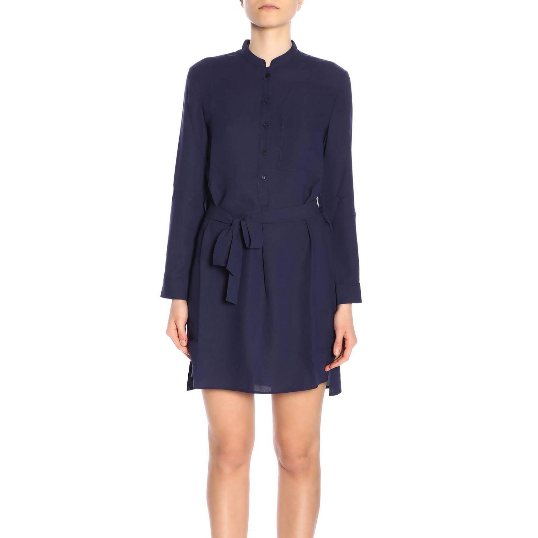 Robes femme Armani Exchange bleu 1
