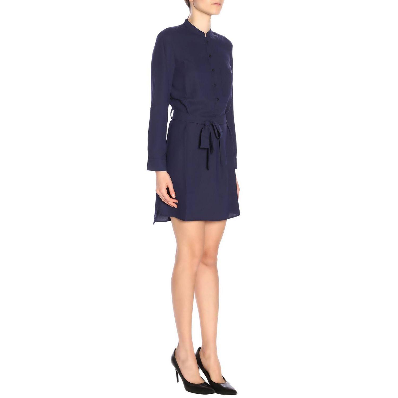 Robes femme Armani Exchange bleu 4