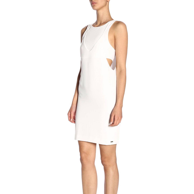 Dress women Armani Exchange white 2