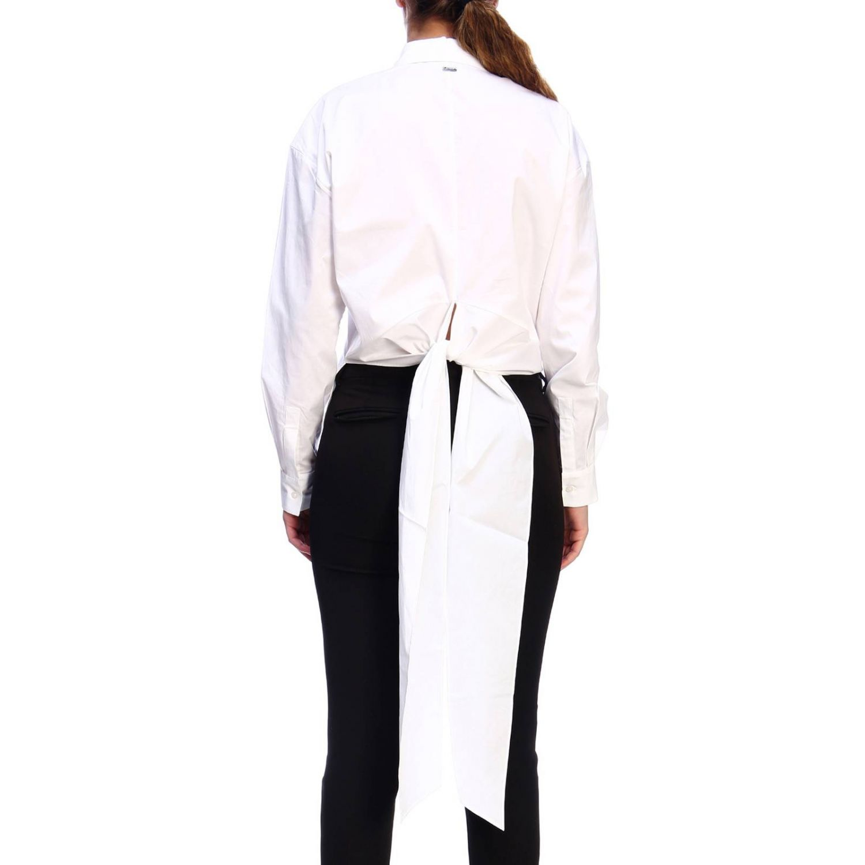 Shirt women Armani Exchange white 3