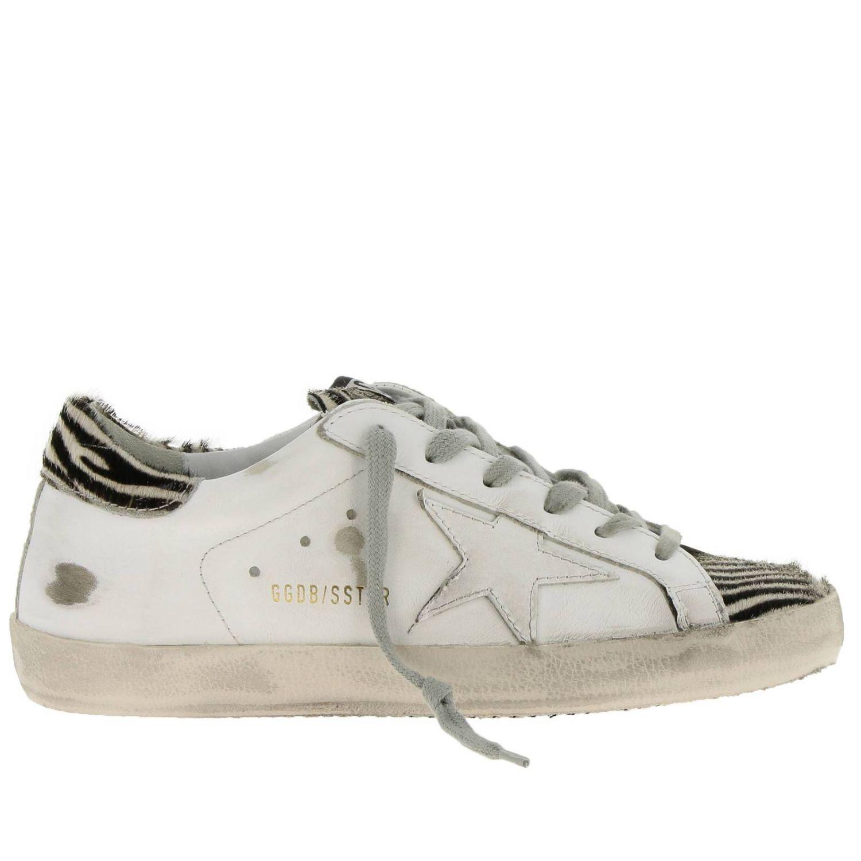 Chaussures femme Golden Goose blanc 1