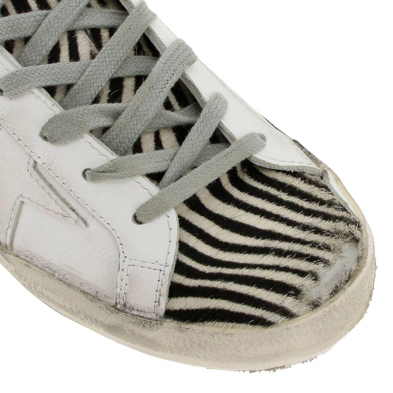 Chaussures femme Golden Goose blanc 3