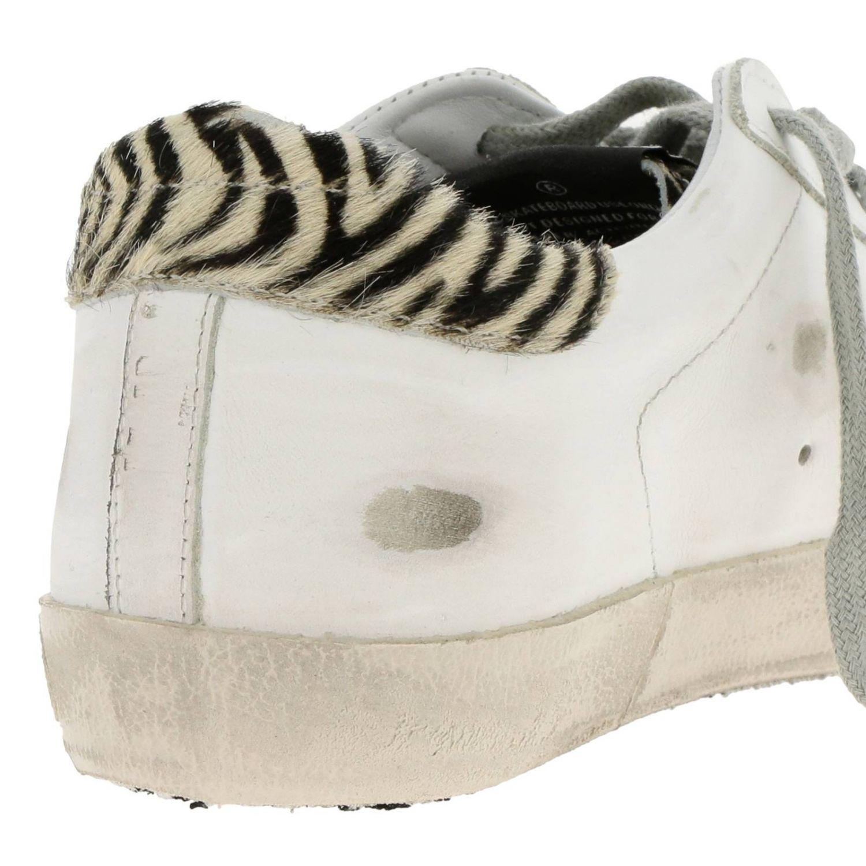 Chaussures femme Golden Goose blanc 4