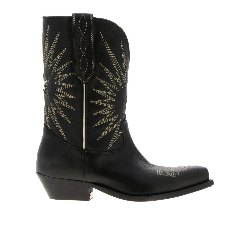 Chaussures femme Golden Goose noir 1