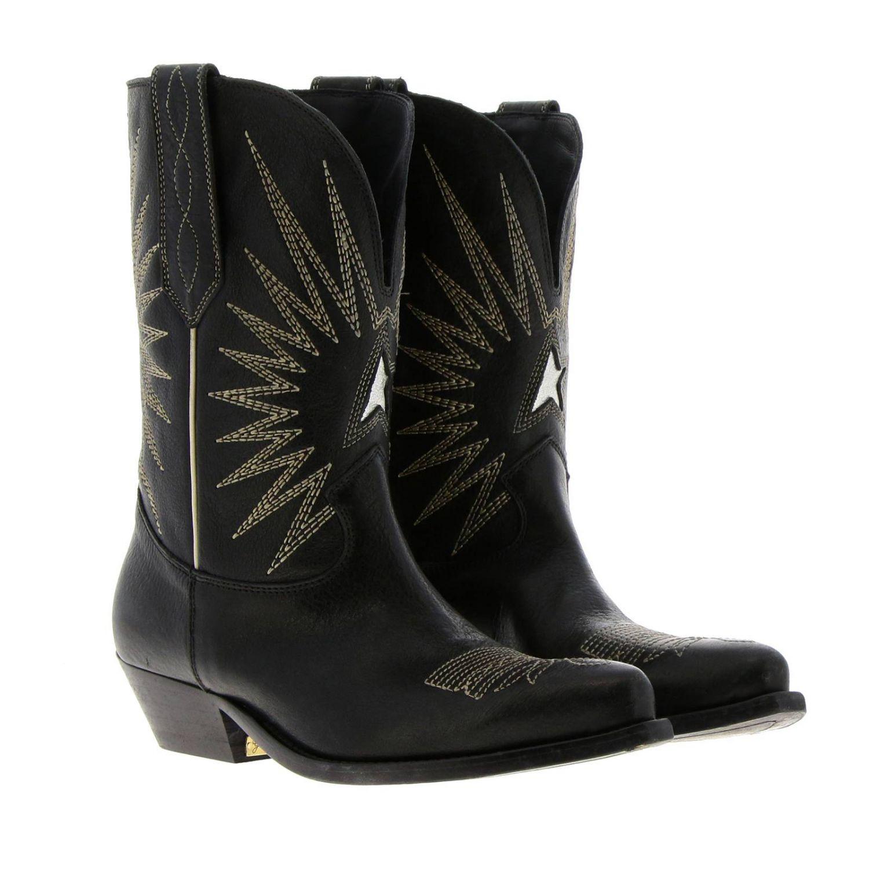 Chaussures femme Golden Goose noir 2