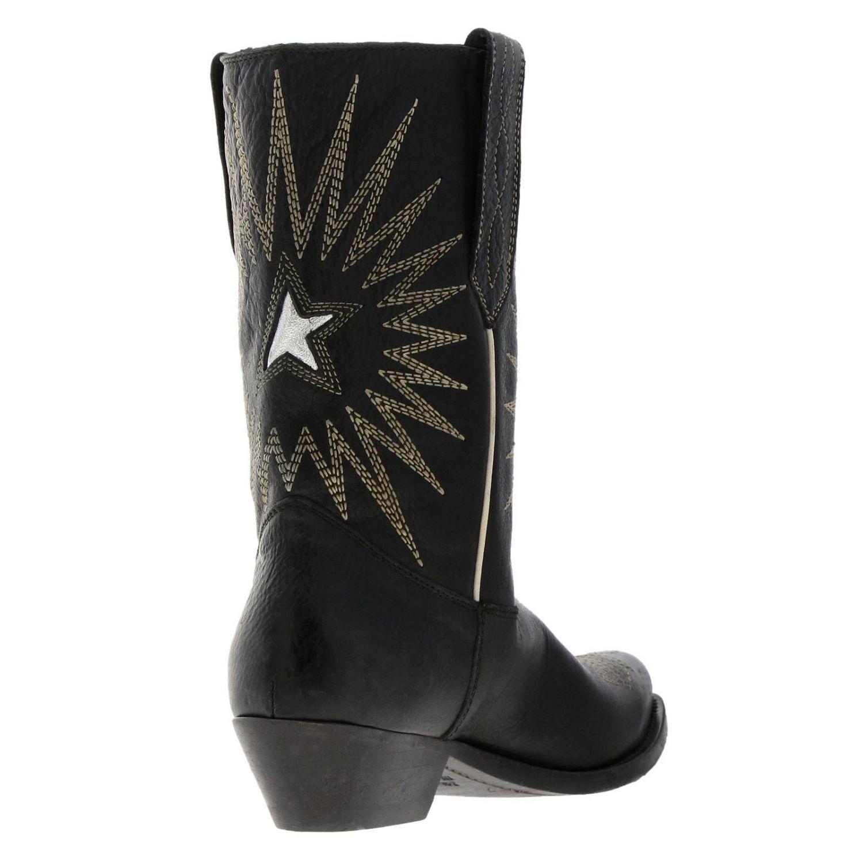 Chaussures femme Golden Goose noir 4