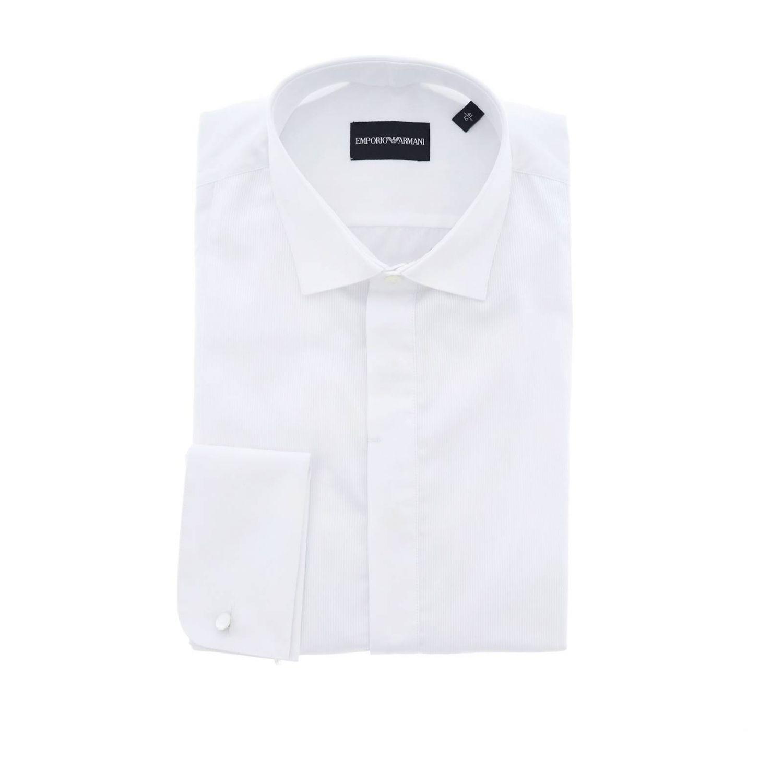 Рубашка Мужское Emporio Armani белый 1