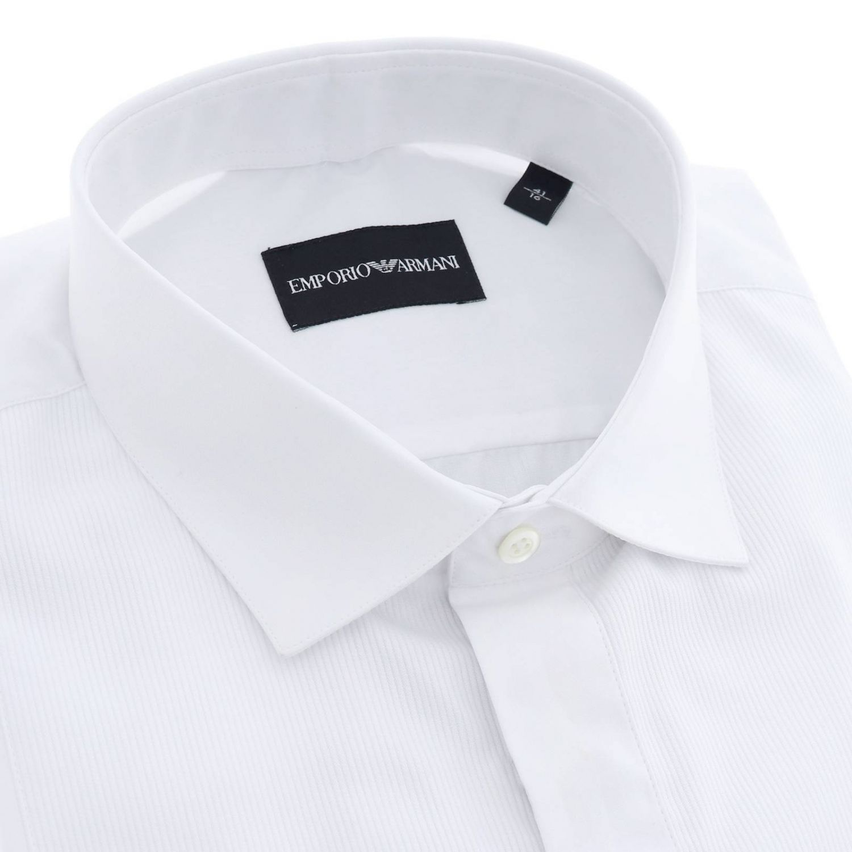 Рубашка Мужское Emporio Armani белый 2