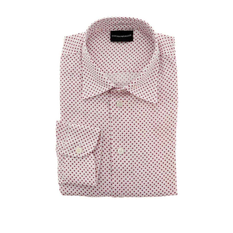 Рубашка Мужское Emporio Armani красный 1