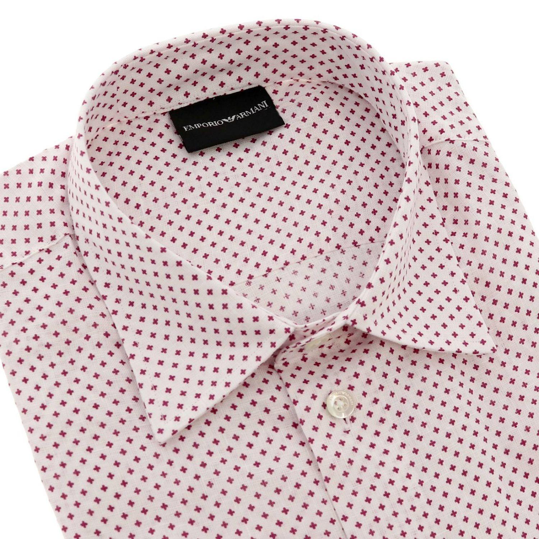 Рубашка Мужское Emporio Armani красный 2