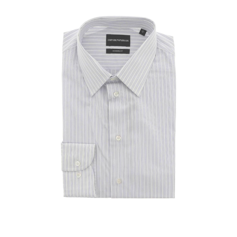 Camisa hombre Emporio Armani blanco 1