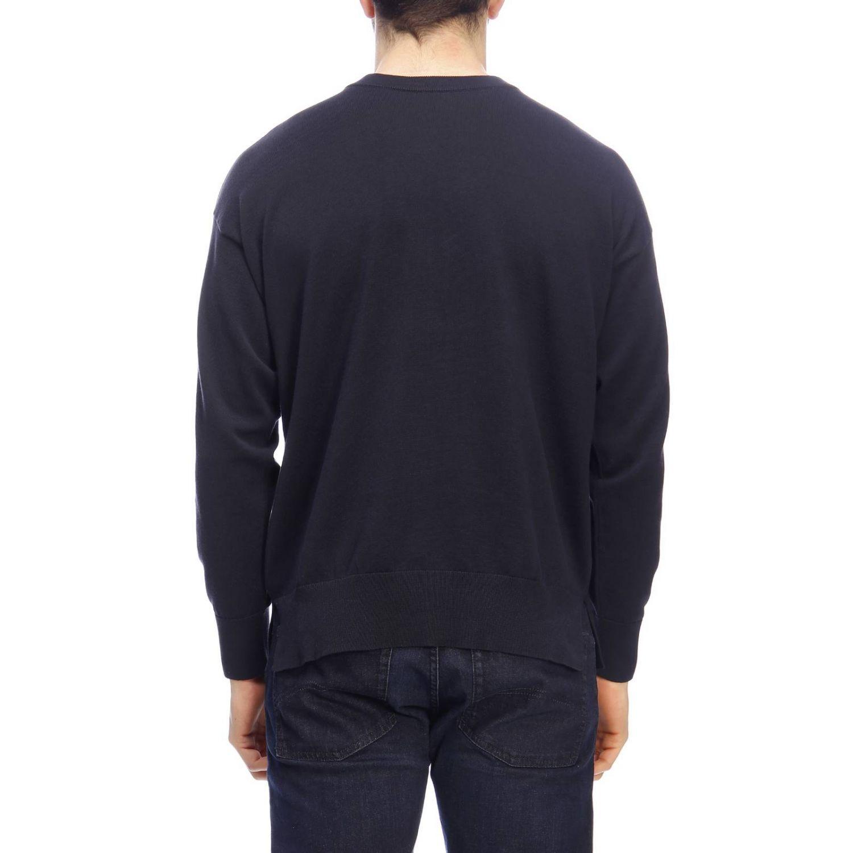 Pullover herren Emporio Armani blau 3