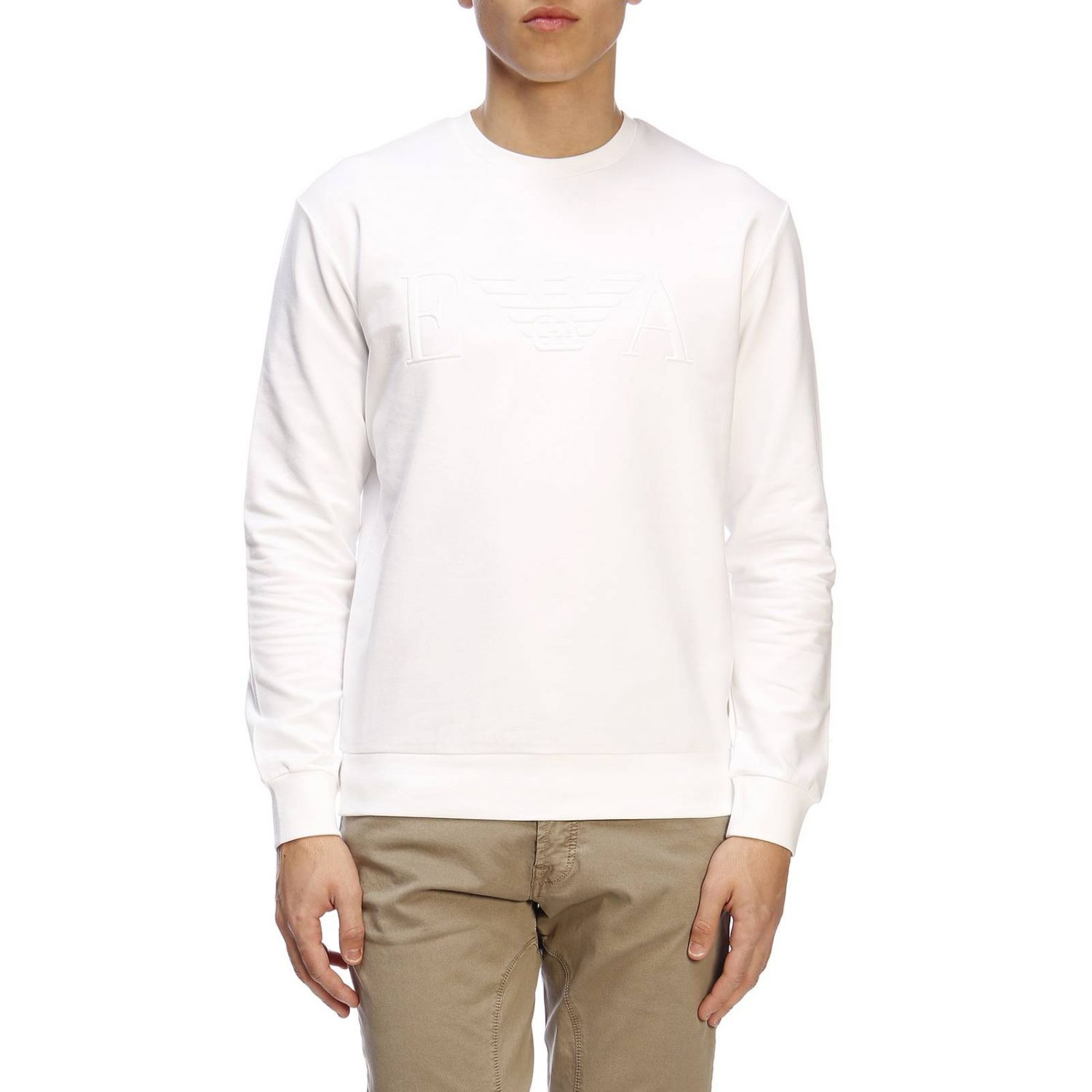 Sweater men Emporio Armani white 1