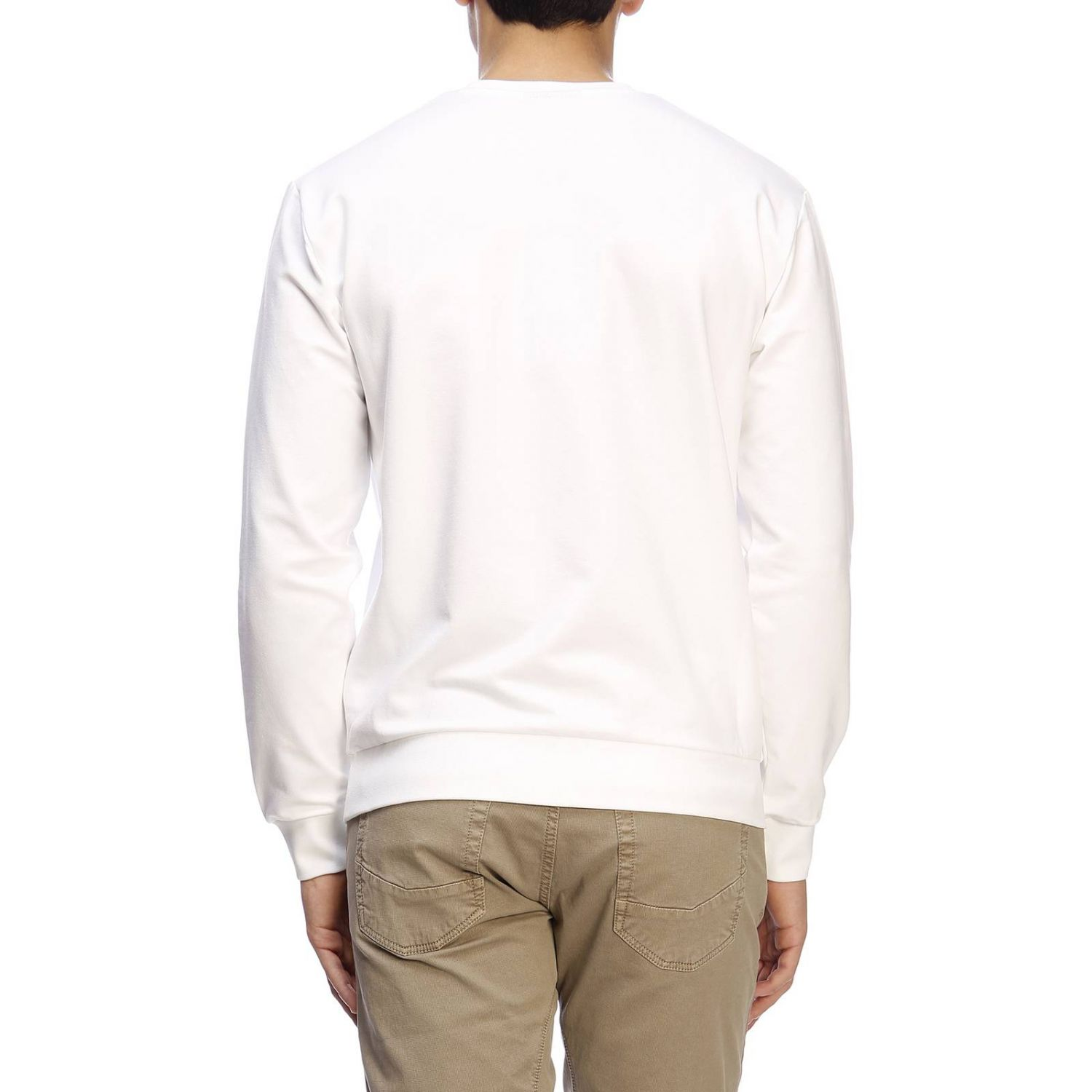 Sweater men Emporio Armani white 3