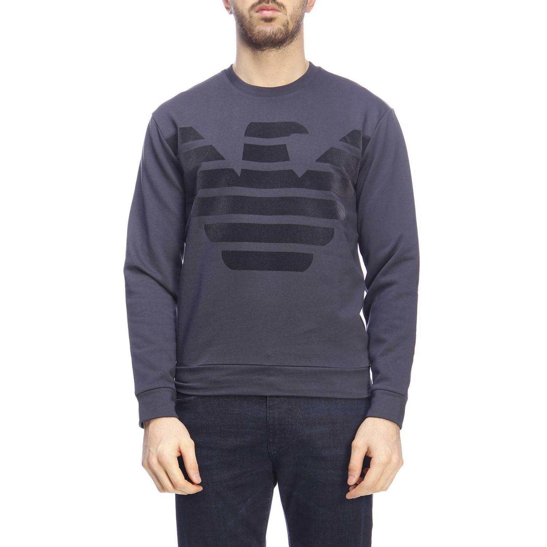 Sweater men Emporio Armani blue 1
